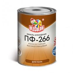 ЭМАЛЬ ПФ-266 ДЛЯ ПОЛА ЖЕЛТО-КОРИЧНЕВАЯ