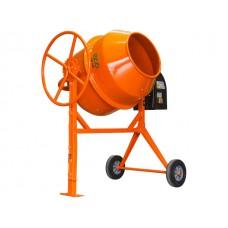Бетоносмеситель ECO CM-240 (объем 240л., 1200 Вт., 230 В., вес 83 кг., педаль для опрокидывания)