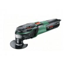 Многофункциональный инструмент (реноватор) BOSCH PMF 350 CES в чем. + набор оснастки (350 Вт, 15000 -20000 об/мин, Starlock)
