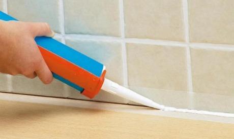 Использование строительного герметика